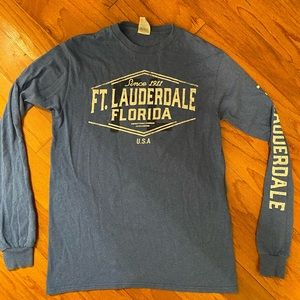 Ft. Lauderdale Lonf Sleeve T-Shirt